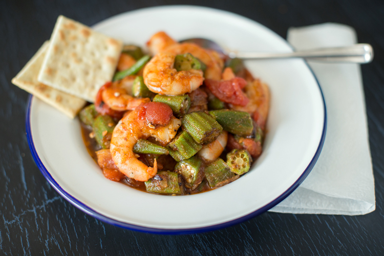 A Recipe – Creole Inspired Shrimp and Okra Dish
